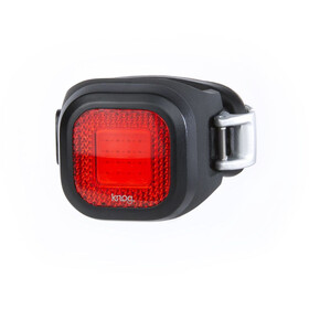 Knog Blinder Mini Chippy LED Rear Light, red/black